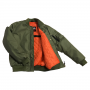 Aramid Bomber Jacket Olive Inside